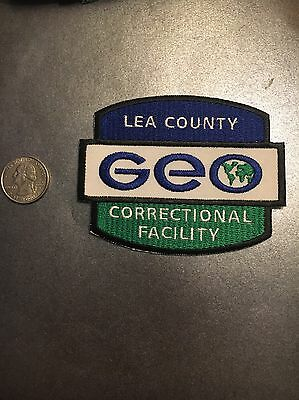 Lea County Correctional Facility Private Prison Police Patch Hobbs New Mexico NM