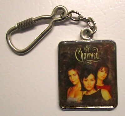 1999 CHARMED KEY CHAIN First Season Prue Piper Phoebe SOLID METAL
