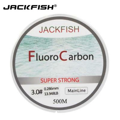 JACKFISH 500M Fluorocarbon in Clear