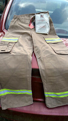 New cheftain rescue safe turnout wildland/ems pants  small inseam 29'