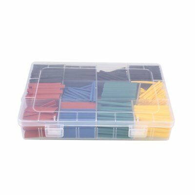 530pcs/Set Heat Shrink Tubing Tube Electrical Connection Sleeving Wrap Cable