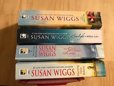 Lot Of 4 Great Books By Susan Wiggs (3 Lakeshore Chronicles + One)