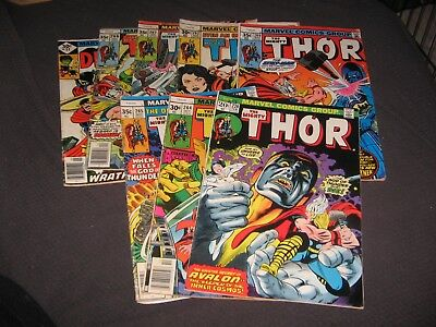 Lot of bronze age Thor, Thor #220 (Feb 1974, Marvel)