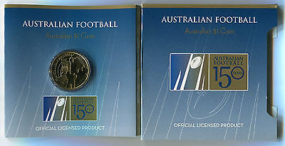 "2008 $1 Uncirculated Coin: ""150 Years of AFL."""