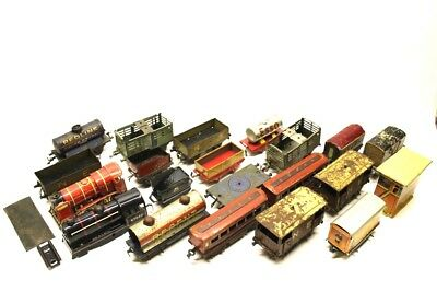 Hornby O Gauge Metal Wagons Mixed Freight Rolling Stock & Loco JOBLOT BUNDLE