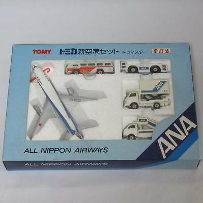Tomica Pocket Cars New Airport Set Lockheed Tristar All Nippon Airways Japan