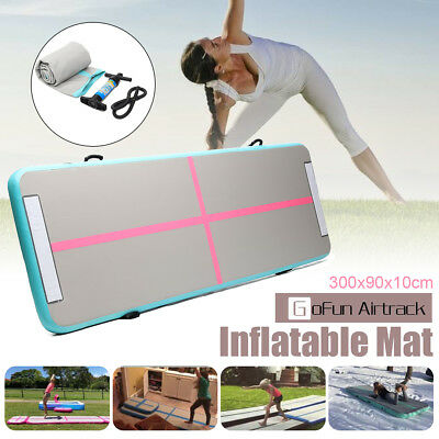 Inflatable Air Track Floor Home Gymnastics Tumbling Mat GYM Training Track Mat