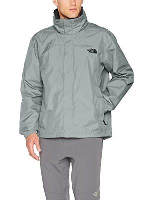 The North Face M Resolve Jacket Chaqueta, Hombre, Monument Grey/Asphalt Gry, S