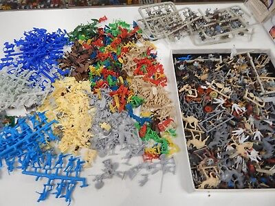 1/72 plastic toy soldiers Airfix, Orion, Revell - assortment odds and sods