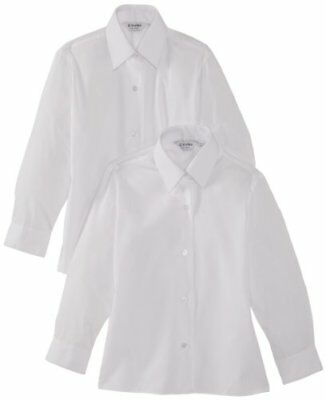 Trutex Ls Easy Care - Paquete de 2 Blusas con mangas largas para niñas, color B