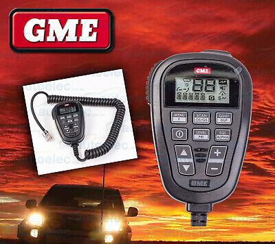 New Replacement Gme Lcd Uhf Cb Microphone Mic For Tx3345 Radio Mc534B