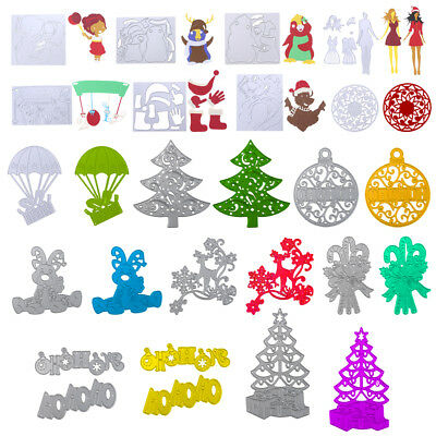 Xmas Series Metal DIY Cutting Dies Stencil Scrapbook Album Paper Card Craft Gift