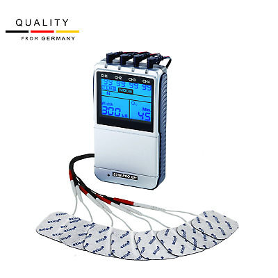 Professional EMS TENS machine.Muscle training Pain relief.All in one unit device