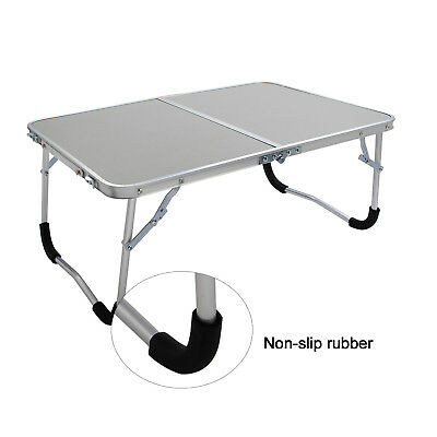 2FT Portable Outdoor Indoor Picnic Camping BBQ Reading Folding White Table