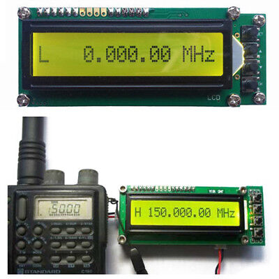 10x(0.1MHz~1200MHz 1.2GMZ Frequency Counter Tester Measurement LCD For Ham X5U6