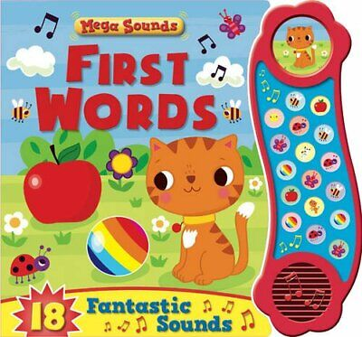 First Words (Mega Sounds) Book The Cheap Fast Free Post