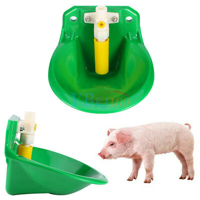Plastic Automatic Water Drinker Waterer Bowl For Goat Sheep Pig Piglet Livestock
