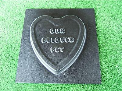 Memorial Stone Mould Plaque Marker Mould For Pets & Animals