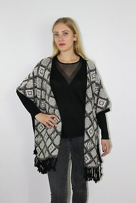 Soon Maille Pull U Tricot Manche Chaud Gilet See Poncho Femme Veste RIO6qEvxw
