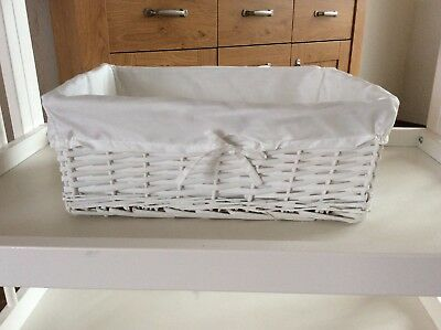 3x Baby Changing Table Baskets