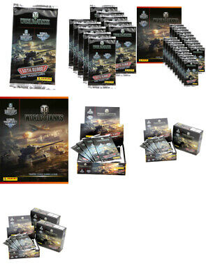 Panini - World of Tanks - Trading Cards - Display, Starter, Booster aussuchen