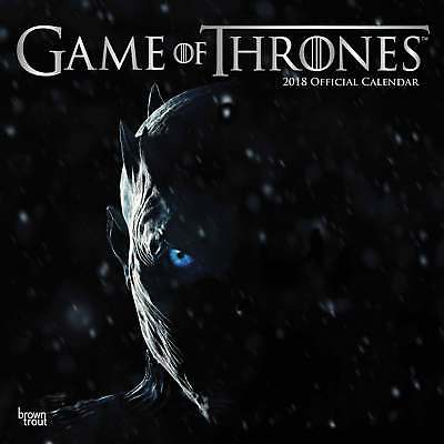 Game of Thrones Calendar 2018