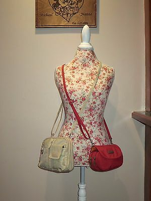 "MultiSac E/W Mini Crossbody & Baggallini ""On-The-Go"" Crossbody - WaistPack (EUC)"