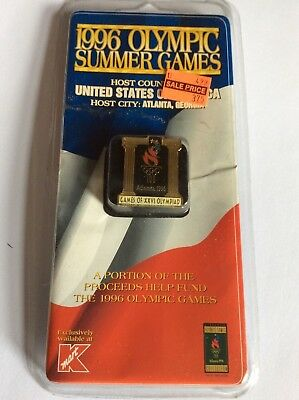 Atlanta Olympic Games 1996 Temple pin in original packaging