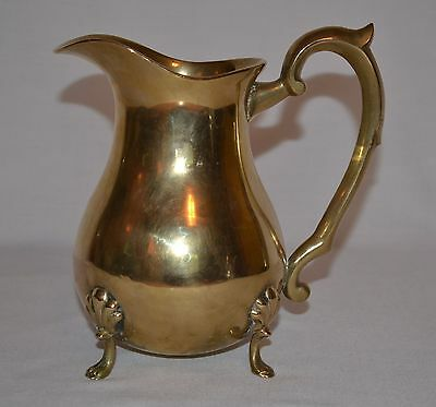Vintage Silver Plated Water Pitcher ~ EPNS Electroplated Nickel Silver A1 India
