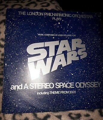 STAR WARS AND A STEREO SPACE ODYDSEY. by The London Philharmonic orchestra ..