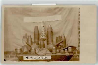 52604111 - German WWI Collection of Artillery Shells RPPC
