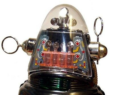 Robby the Robot Japan Osaka Tin Toy Mechanized Robot Dome Only