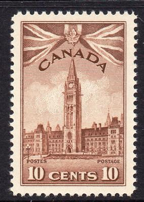 Canada 10 Cent Stamp c1942-48 Mounted Mint