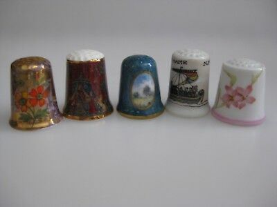 Collection of THIMBLES Flowers Ship