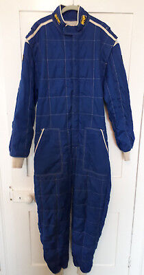 OMP Nomex Race Suit in Blue (race, rally, hillclimb) SIze 58