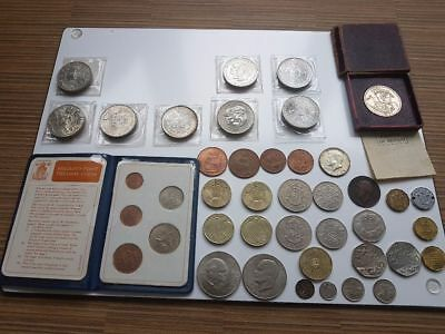Coin Collection featuring  42 Old Coins