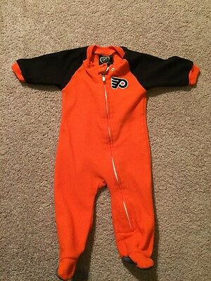 Childs Nhl Philadelphia Flyers Onzie 0-3 Months