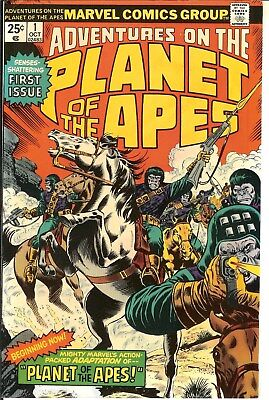Adventures on the Planet of the Apes #1,2,3,4,5,6,7,8,9  F/VF  1975
