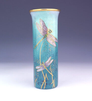 Vintage Carlton Ware - Dragonfly No1 Trial Vase - By Marie Graves - Unusual!