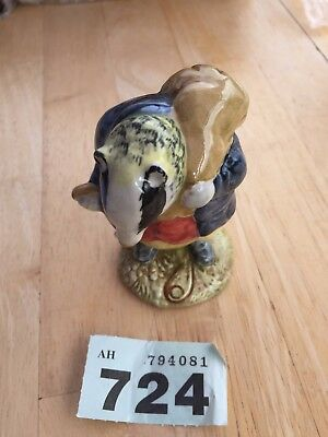 "Retired Beatrix Potter Beswick Figure ""Tommy Brock"" BP3b C1955 F Warne & Co"