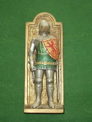 Vintage Marcus Replicas Knight King of Scotland medieval plaque