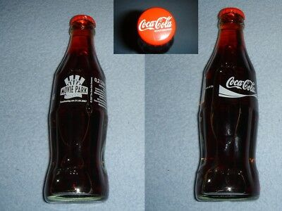 Coca Cola Movie Park 2007 Glas Flasche/bottle/bouteille/bottiglia RAR/SELTEN