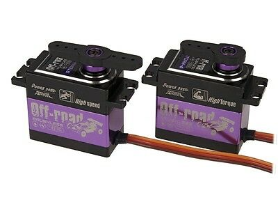 Power HD Brushless Digital Servo Combo HV STORM-4/5 Sanwa Futaba