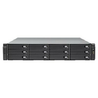 Qnap WB-1200U-RP-US 2U 12-Bay Server/Storage System, Diskless - BRAND NEW!