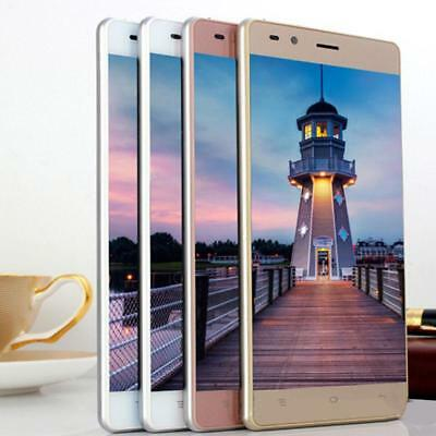 """5"""" Unlocked Dual SIM Android 4.4 Smartphone Quad Core 1+8GB Cell Phone LOT"""