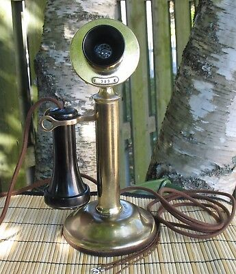 Vintage Northern Electric Candlestick Telephone(Naked)