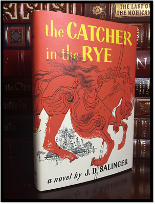 The Catcher in the Rye by J.D. Salinger Brand New Hardcover Classic Gift Edition