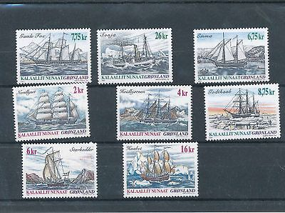 34949/ Grönland ** MNH Lot / Mixture Schiffe Ship
