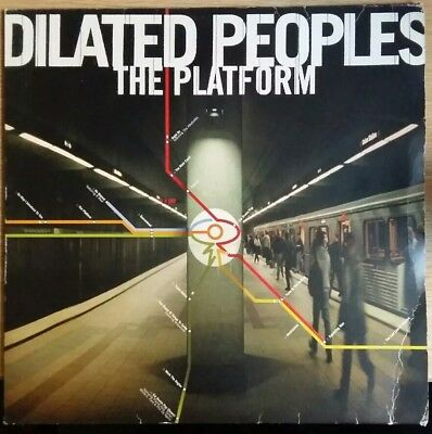 "Dilated Peoples ‎– The Platform 12x2"" LP"