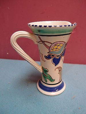 LARGE HONITON JACOBEAN PATTERN JUG no.92 with TWISTED HANDLE GOOD CONDITION